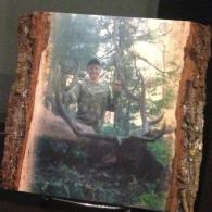 Personalized Wood Photo Plank